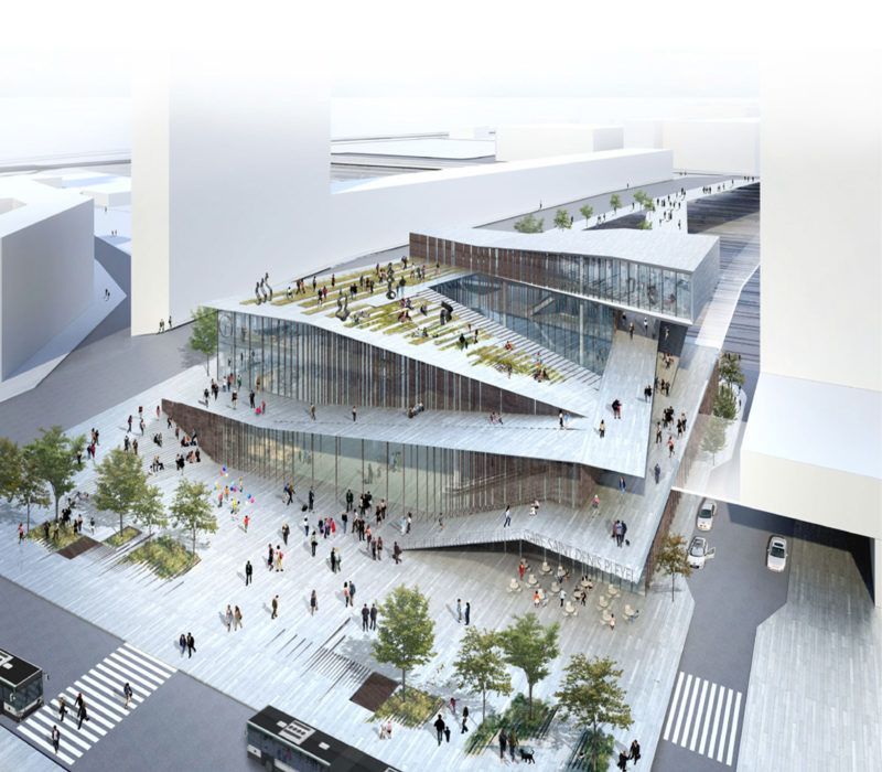 Copyright Kuma & Associates Europe- Gare Saint-Denis Pleyel, Grand Paris Express