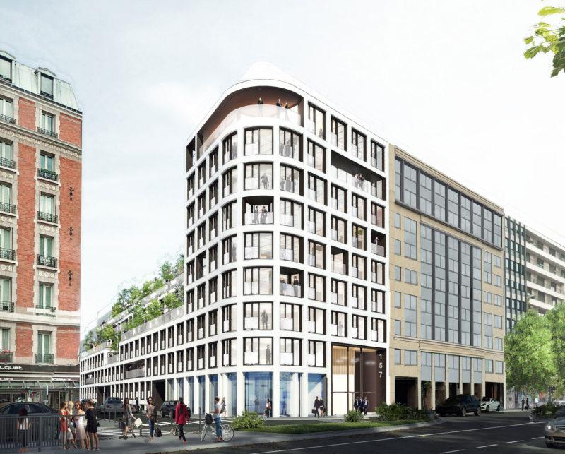 - Projet tertiaire «Graviers», Neuilly-sur-Seine