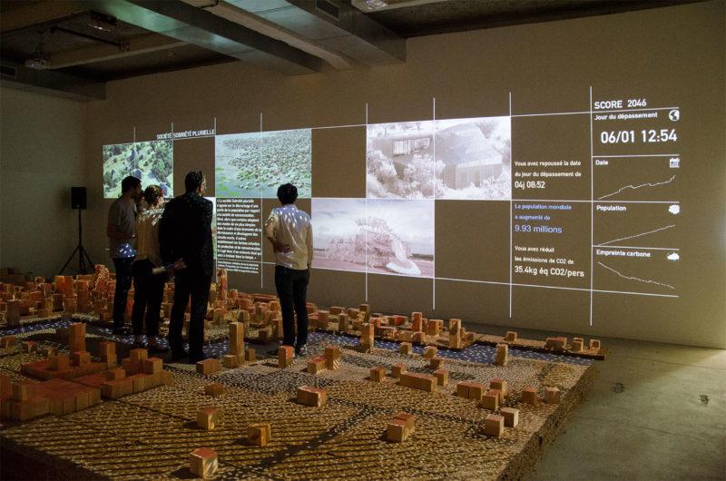 Biennale d'architecture de Lyon  Crédit photographe : Biennale d'architecture de Lyon - Studio Akkerhuis- Installation Re-Génerations, Biennale de Lyon 2017