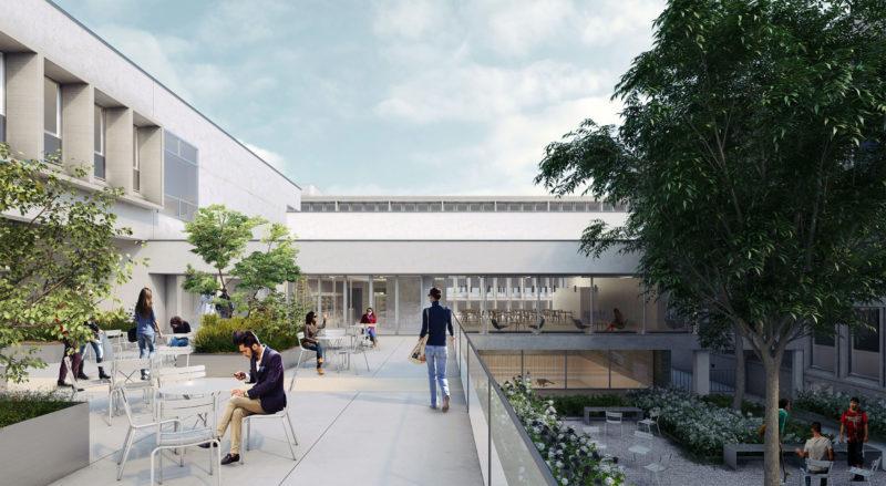 Perspectiviste Vurpas Architectes- «Le Patio», Strasbourg
