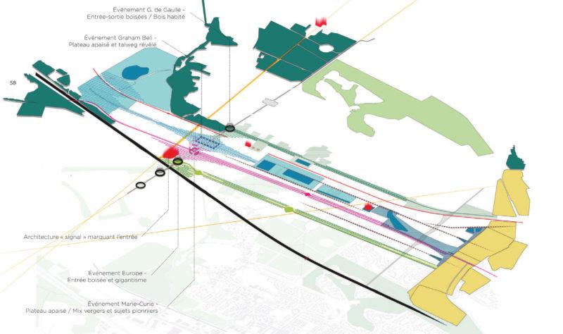 Copyright images : AIA Environnement  - Zac entrée de ville, Bussy-Saint-Georges